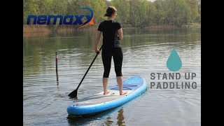 SUP Board - Nemaxx - Stand Up Paddling auf dem Silbersee