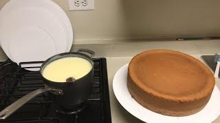 Rellanado pasteles un sábado
