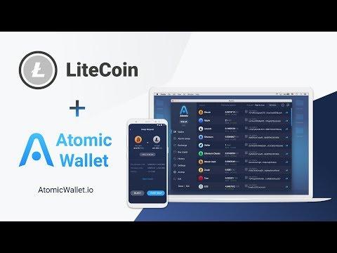 Litecoin LTC Atomic Wallet