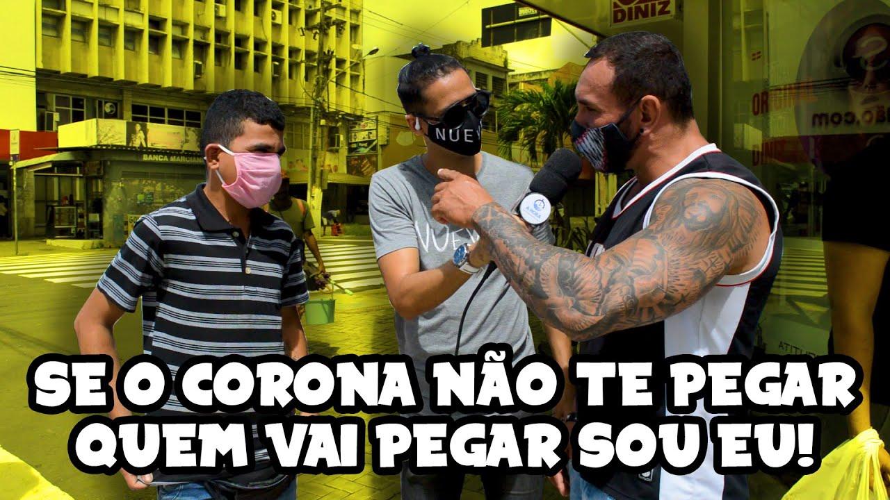 MUDANDO DE OPINIÃO - USO DA MÁSCARA