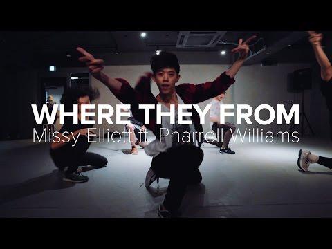 Where They From - Missy Elliott feat. Pharrell Williams / Bongyoung Park Choreography