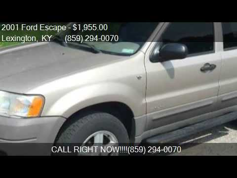2001 ford escape xls 2wd 4dr suv for sale in lexington ky for Royal motors lexington ky
