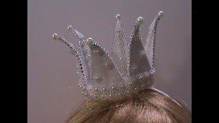 как сделать маленькую корону для принцессы