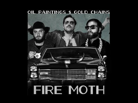 Fire Moth - Oil Paintings and Gold Chains