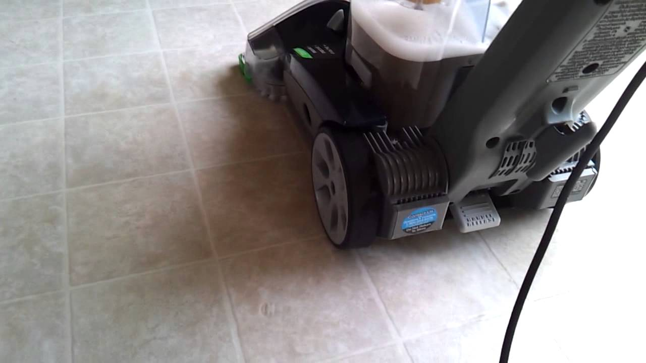 Hoover all terrain cleaning tile floor youtube hoover all terrain cleaning tile floor dailygadgetfo Images