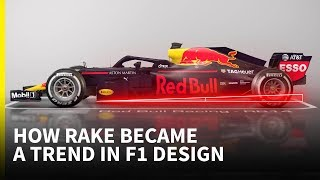 Why 'rake' is such a big design trend in F1