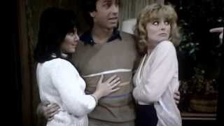 Three's Company - Jack sneak squeeze Janet and Terri booty