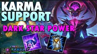 Dark Star Karma Support Build season 10 League of Legends Runes & LOL S10 Karma Supp - UTM