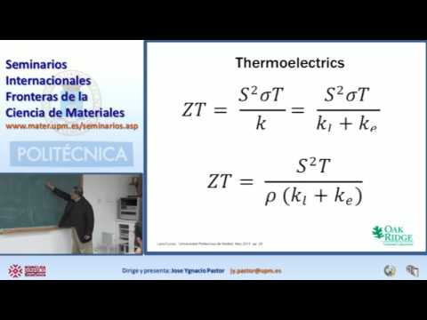 Materials for Green Energy 24: Energy efficiency thermoelect