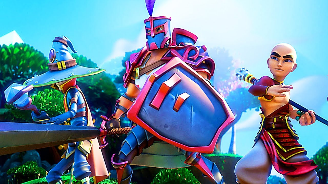 DUNGEON DEFENDERS 2 : Protean Shift Bande Annonce (2018) PS4 / Xbox One / PC