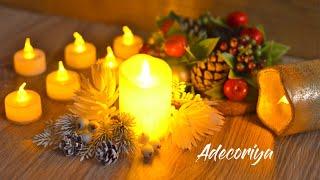 СВЕТОДИОДНЫЕ СВЕЧИ, виды, обзор   Уютный декор   LED lamp