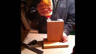 Homemade Wooden Vice
