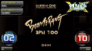 [PUMP IT UP XX] 부메랑(BOOMERANG) S2 & S10