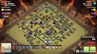 TH 9 WAR ATTACK STRATEGIES FOR 3 STAR (PART-3)
