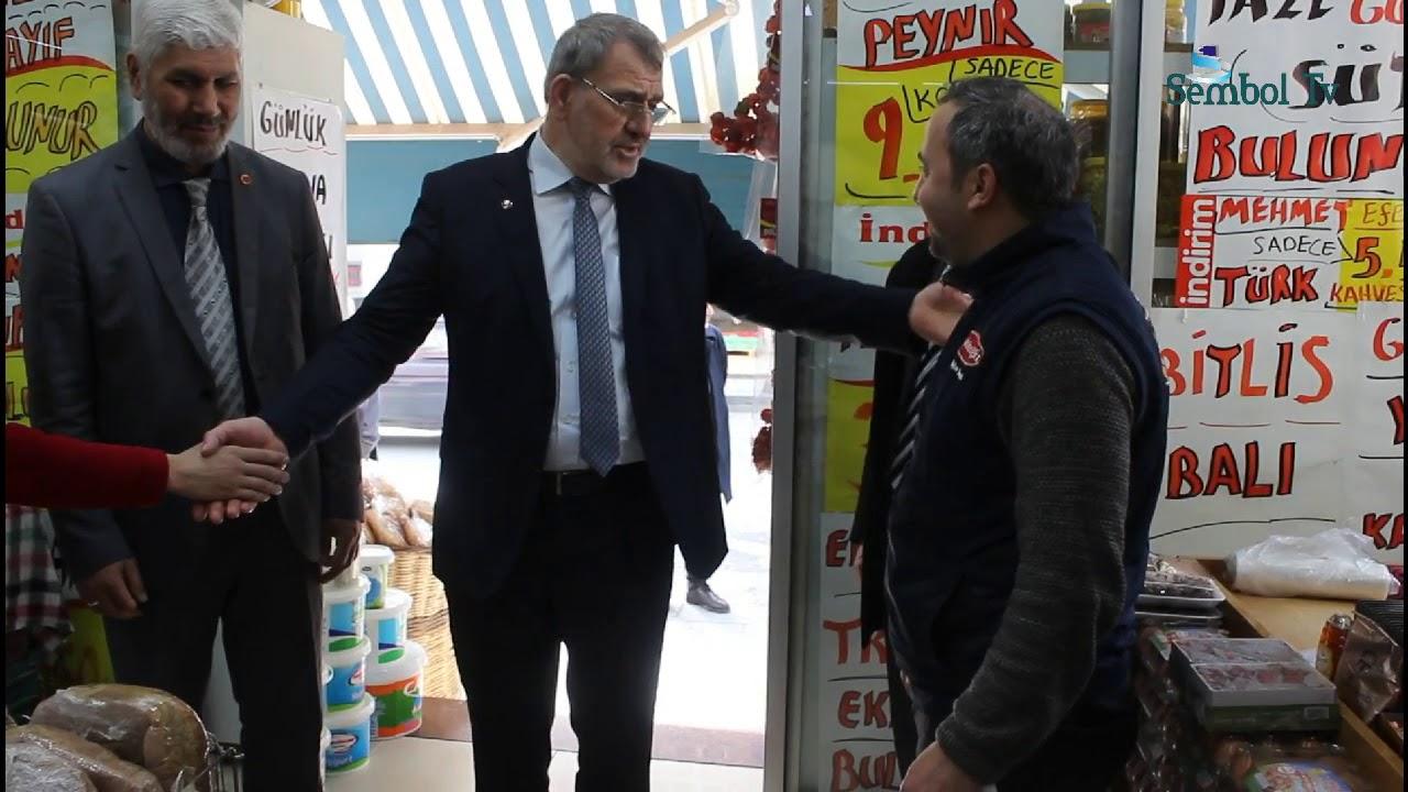 Aydoğan, Esnaftan Söz Aldı!