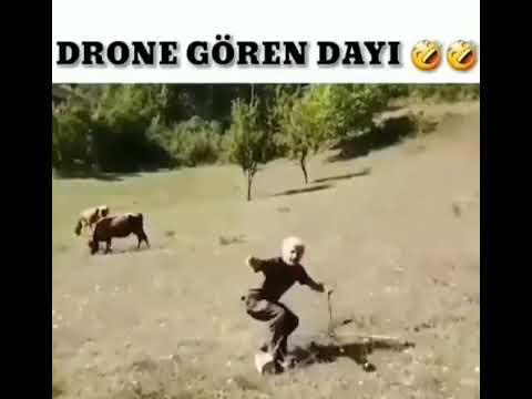 Фото İlk kez drone gören dayı bakın ne yapıyor ⚡????