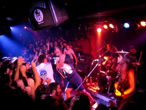 Municipal Waste - Live in Greece at An Club- 02 09 2009 Intro - Mind Eraser