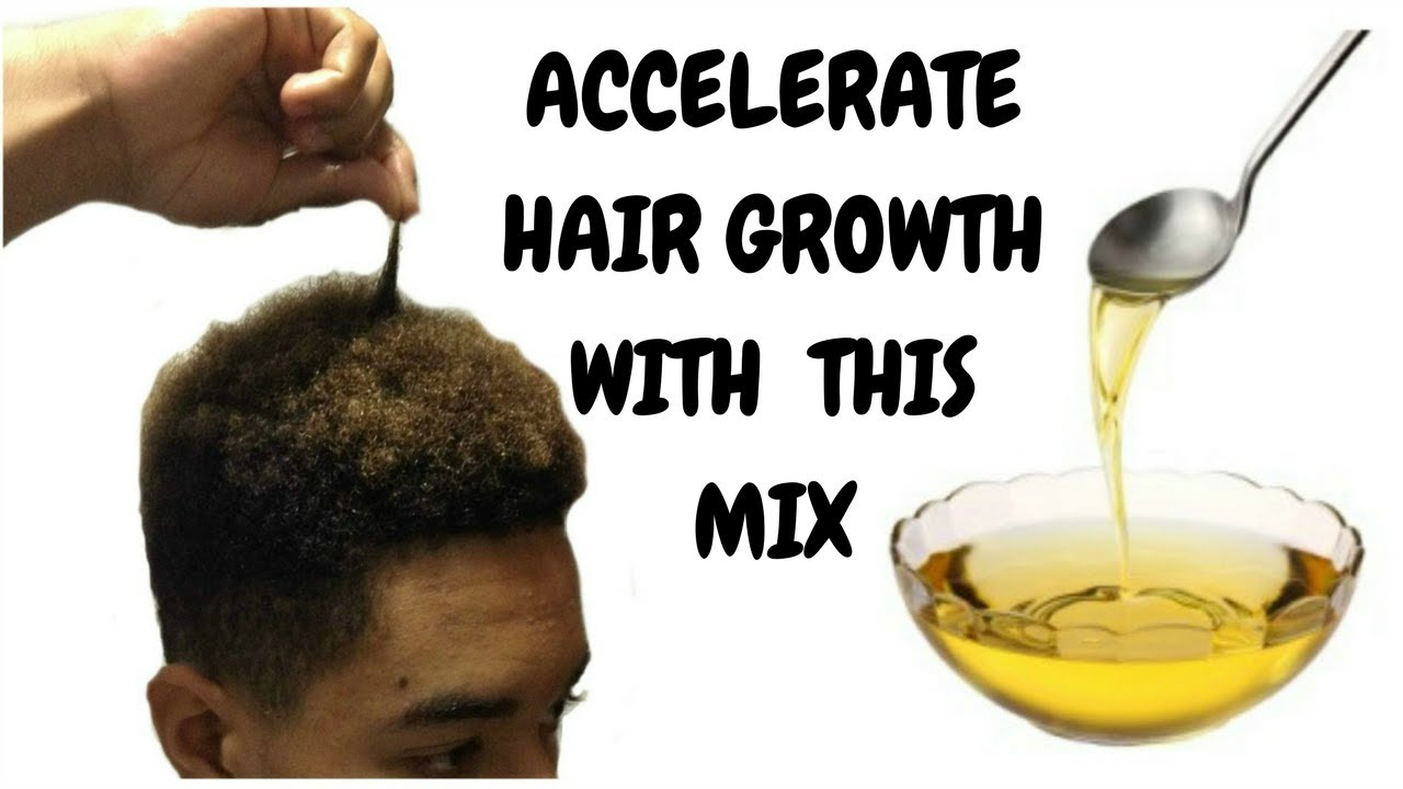 Accelerate Hair Growth with this combination of oils !