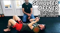 Schulter ÖFFNER bei Knacken oder Schulterschmerzen (Die Mittel-Methode)