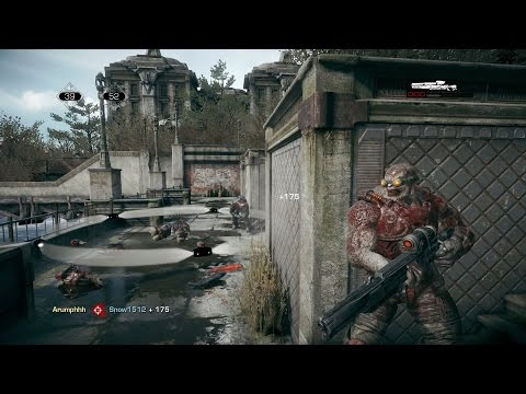 Gears Of War Ultimate Edition Beta | MY FIRST ONLINE MATCH! King Of The Hill On Gridlock! (XBOX ONE)