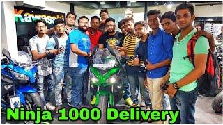Brand New Kawasaki Ninja 1000 Delivery
