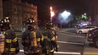 Pre Arrival - FDNY Verbal Transformer Fire Outside Firehouse