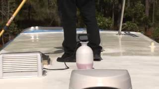 HowTo Coat a Fiberglass RV Roof by RV Education 101®