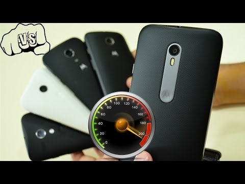 Moto G 3 Vs Moto G 2 Vs Moto G 1 Vs Moto E 1 Vs Moto E 2 [SPEED TEST] | Ur IndianConsumer