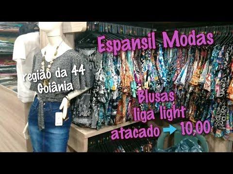 2c00a2c83 Região da 44 em Goiânia - Loja Espansil - Blusas atacado R 10