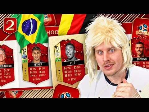 THE GERMANY BRAZIL REMATCH! DRAFT TO THE WORLD CUP #2! FIFA