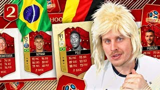 THE GERMANY BRAZIL REMATCH! DRAFT TO THE WORLD CUP #2! FIFA 18 ULTIMATE TEAM Draft to Glory