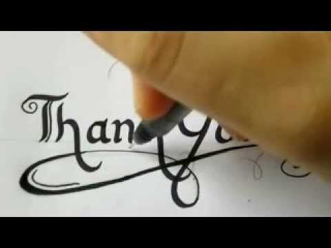 thank you card how to write a thank you card youtube