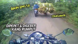 Gara2 Kena Geber Kang Rumput - Mobil vs Mobil Rebutan Jalan - Korban Crash Hampir Ketabrak    RH#89