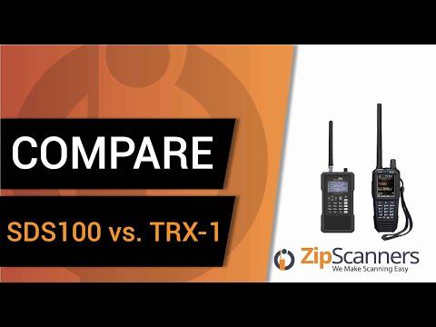 Uniden SDS100 Vs. Whistler TRX-1 | Police Scanner Comparison