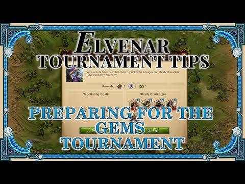 Elvenar Tournament Tips - Preparing For The Gems Tournament
