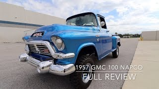 1957 GMC 100 Napco 4x4 Full Review, Walkthrough, Test-drive