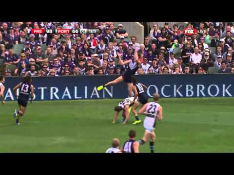 Zac Dawson takes the mark of his life - AFL