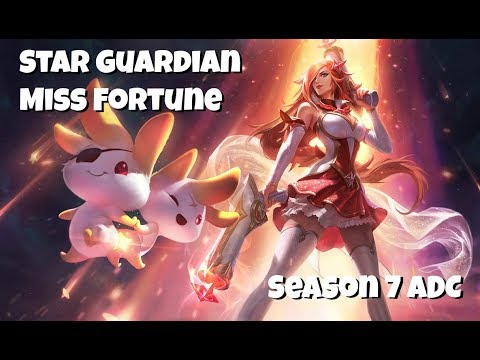 League of Legends: Star Guardian Miss Fortune ADC Gameplay