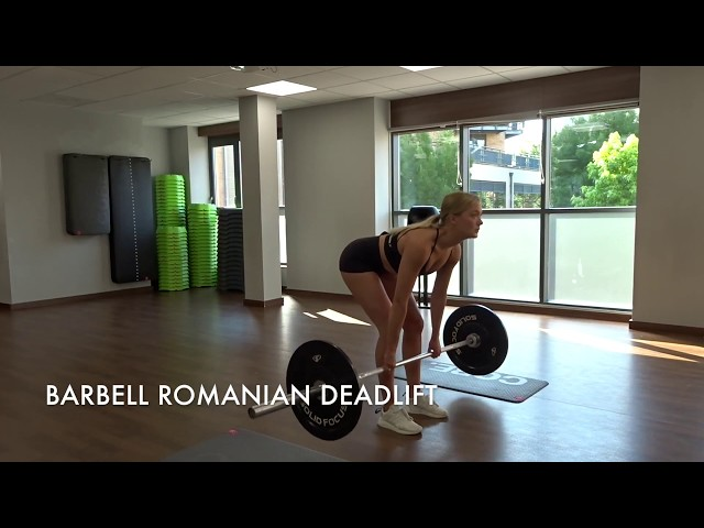 Barbell Romanian Deadlift
