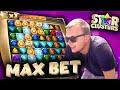 Max Bet Star Clusters Bonus Big Win!
