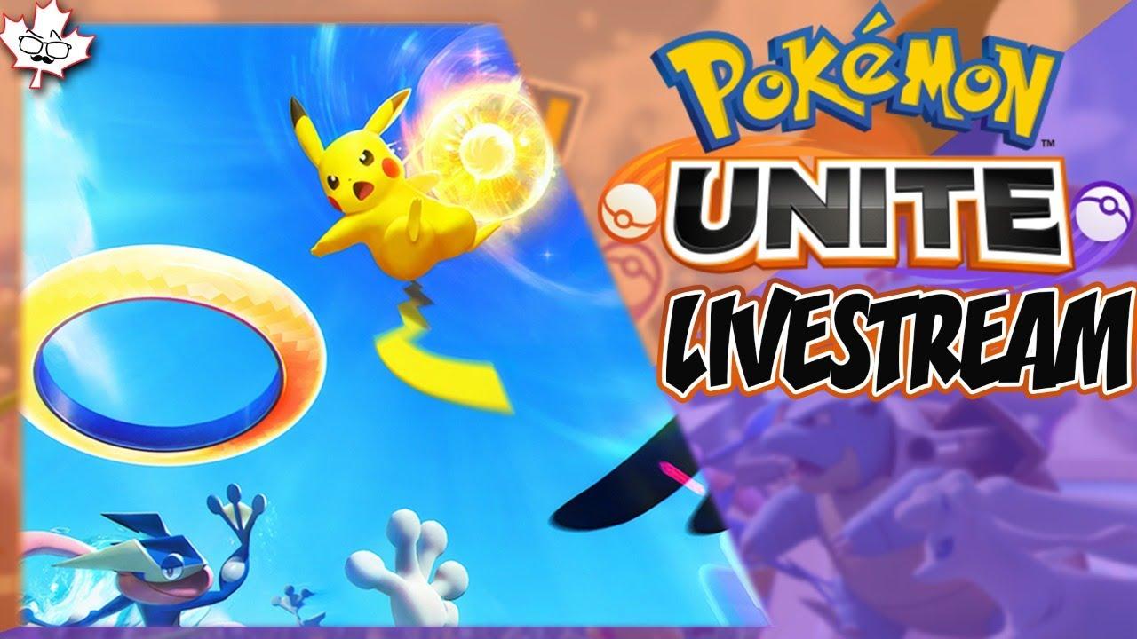 POKE-DUNK - Pokemon Unite LIVE STREAM