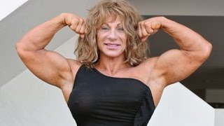 Collection Muscle women! FBB! Female Bodybuilding! Girl Muscles! female biceps! 筋肉少女