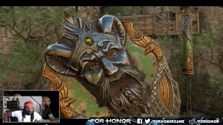 [For Honor] Season 7 New Weapon Showcase! REACTION!