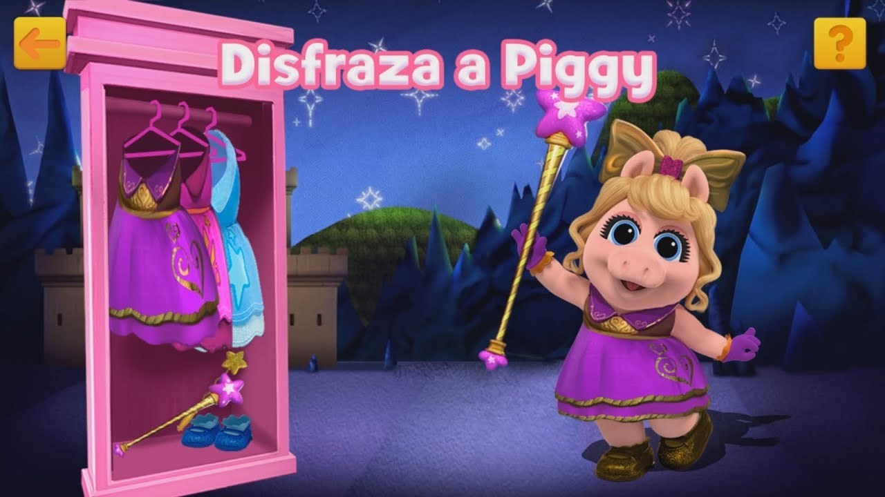 Download MUPPET BABIES DISFRAZA A PIGGY - JUEGOS CREATIVOS DISNEY JUNIOR PLAY