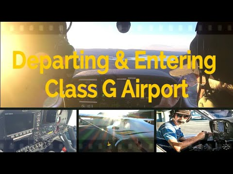 RECREATIONAL PILOT CERTIFICATE: Flying Lesson #10 - Entering & Departing the Circuit | Class G