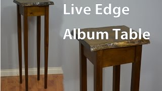 How to Build an Album Table with Natural Edge Top
