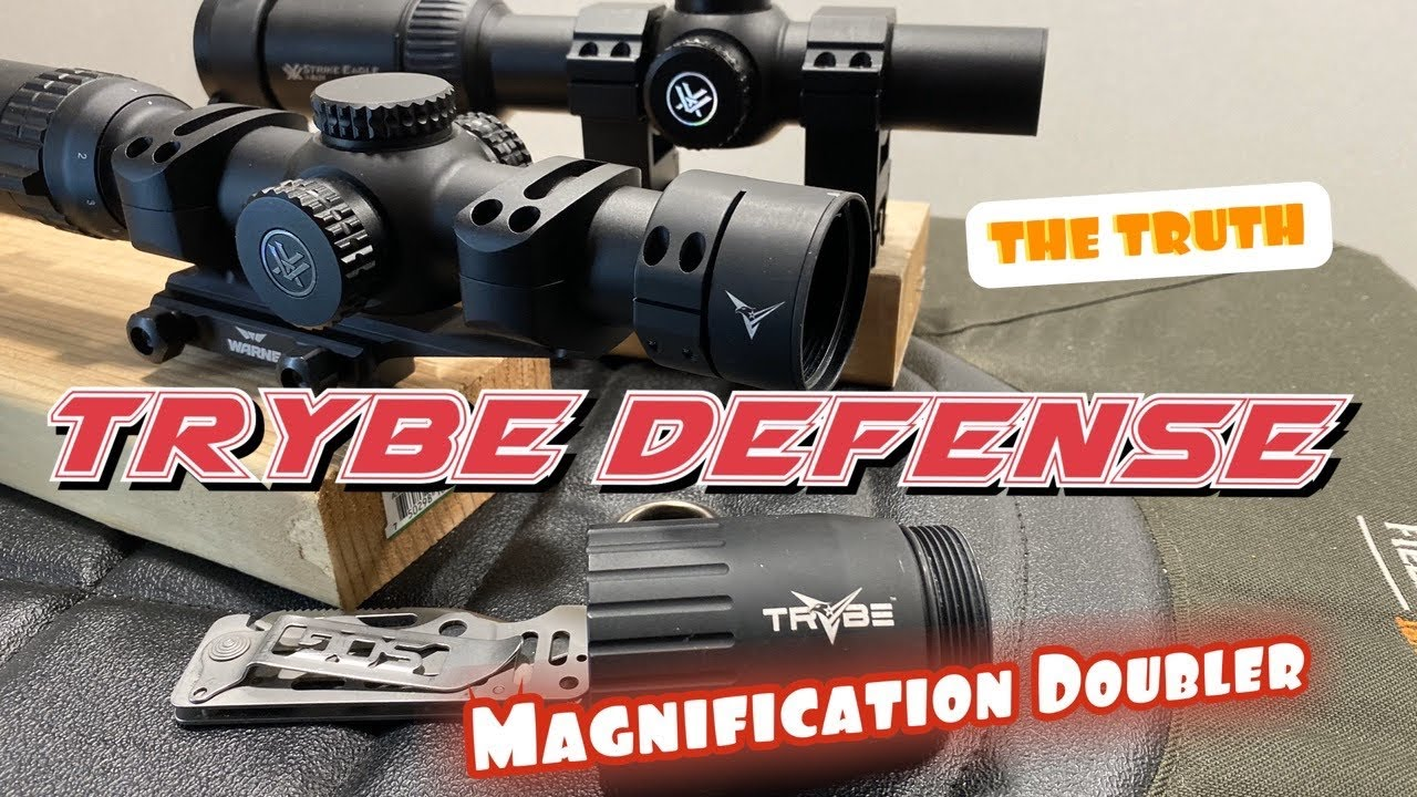 Trybe Defense LPVO Magnification Doubler. Is it worth over $200?  Let's take a look!