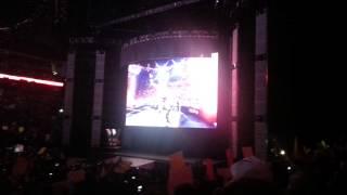 WWE RAW 2/23/15 Opening Intro/Pyro LIVE