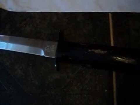 Нож разведчика специальный - легко и просто - YouTube