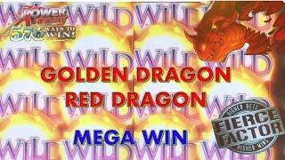 ** MEGA BIG WIN ** NEW GAME * GOLDEN DRAGON ** SLOT LOVER **